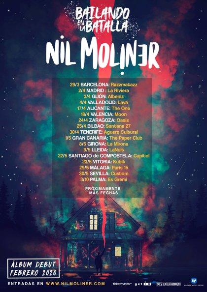 Nil Moliner anuncia su primer álbum y nueva gira para 2020