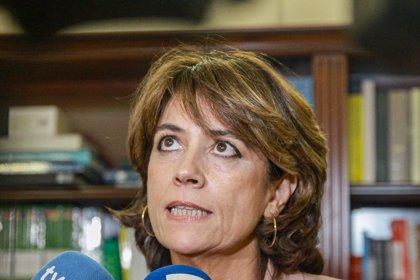 """Delgado, sobre la carta al ministro italiano por Juana Rivas: """"Es un procedimiento obligatorio, habitual y normal"""""""