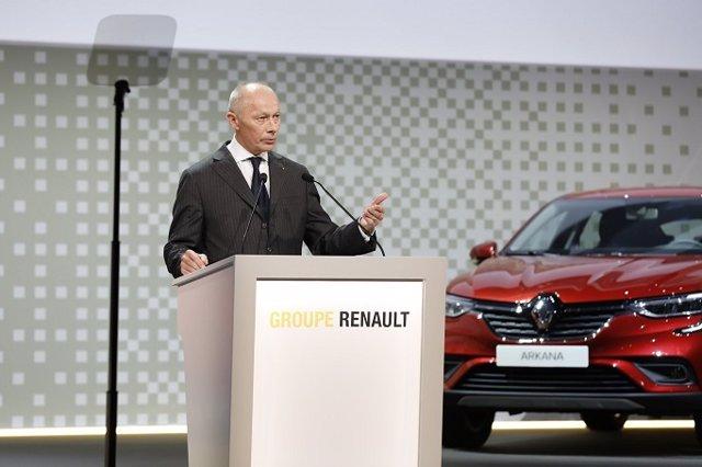 Thierry Bolloré, consejero delegado del grupo Renault