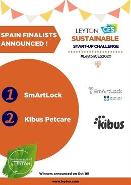 Los proyectos SmArtLock y Kibus Petcare entran en la fase final