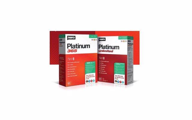 Nero lanza las nuevas versiones de su paquete multimedia Platinum: Nero Platinum
