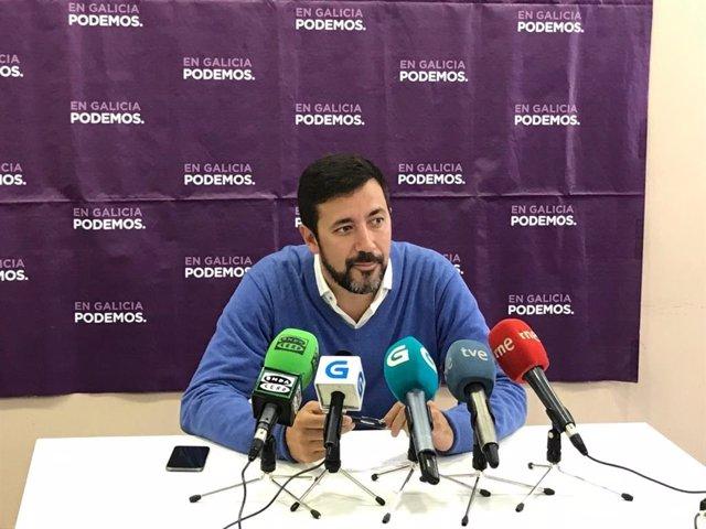 """10N.-Gómez-Reino acusa a Sánchez de """"ir a rebufo"""" nas políticas sociais após o seu anuncio sobre as pensións"""