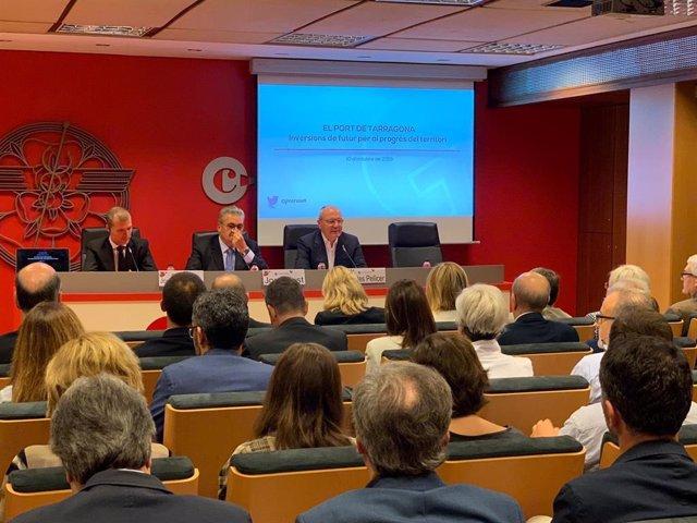 El president del Port de Tarragona, Josep Maria Cruset.
