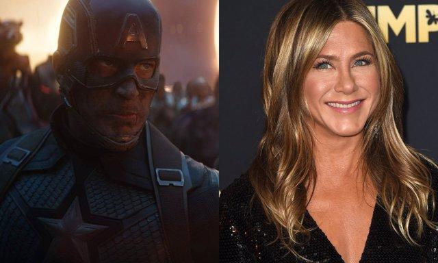 Jennifer Aniston se enfrenta a Los Vengadores