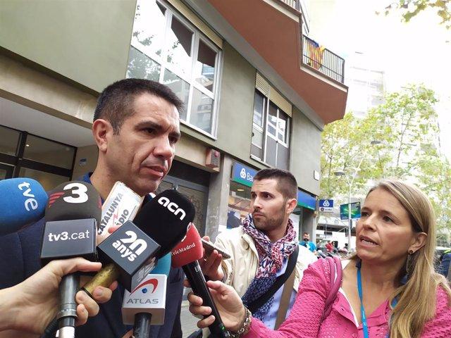 El portaveu d'Unió de Guàrdies Civils, Javier Favorecido Troncoso.