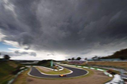 El tifón Hagibis amenaza el camino hacia los títulos de Mercedes y Hamilton