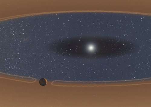 Un límute alrededor de las estrellas actúan como barrera proptectora para los planetas en formación