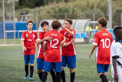España firma un comienzo soñado en la Danone Nations Cup