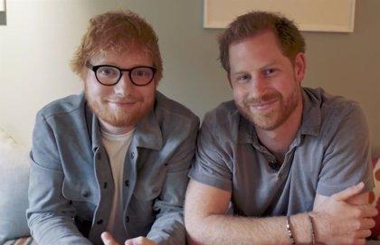 Ed Sheeran y el Príncipe Harry luchan por los derechos de los pelirrojos y la salud mental
