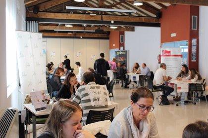 14 empresas y 80 demandantes de empleo participan en un taller ocupacional de La Seu (Lleida)