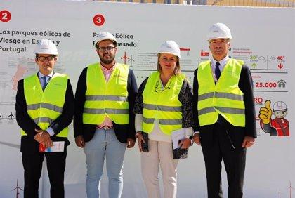 Viesgo inaugura en Puerto Real (Cádiz) su parque eólico El Marquesado, en el que ha invertido 23 millones de euros