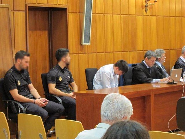 Foto de archivo del acusado de asesinar a su ex pareja en Canteras (Cartagena) en la segunda sesión del juicio