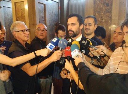 Torrent velará por la libertad de expresión y pide a Sánchez una propuesta tras el aviso del TC