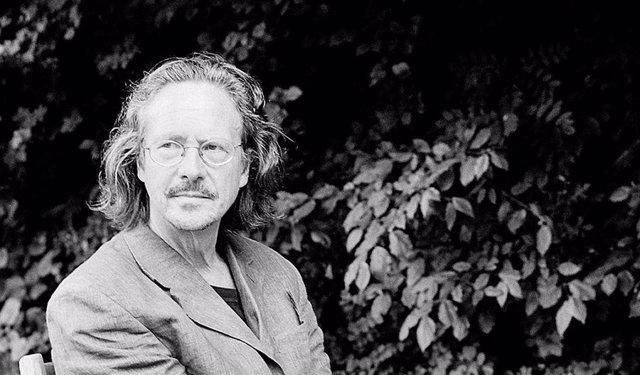 El escritor británico Peter Handke