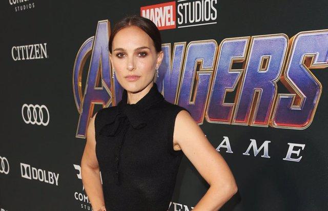 Natalie Portman en el estreno de Avengers: Endgame