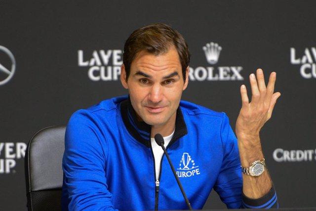 """Tenis/Davis.- Federer: """"Nunca llegué a conocer a Piqué ni nos hemos reunido"""""""