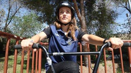 Teresa Fernández-Miranda compite en el Europeo de BMX Freestyle con la vista en Tokyo 2020