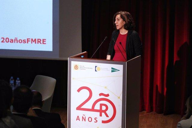 La Secretria d'Estat de l'Espanya Global, Irene Lozano, intervé en el 20 aniversari del Frum de Marques Renombradas Espanyoles celebrat en el Museu del Prat de Madrid