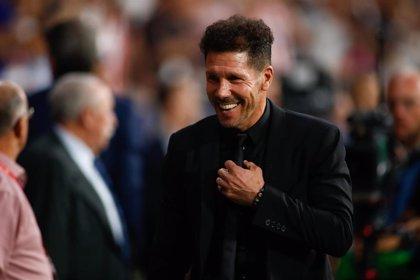 "Simeone: ""Me ocupa mejorar la parte ofensiva del equipo"""