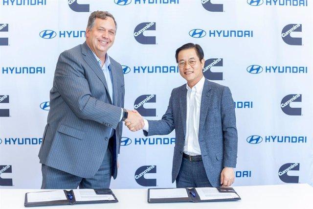Acuerdo entre Hyundai y Cummins para el desarrollo de tecnologías de movilidad eléctrica y de pila de combustible de hidrógeno