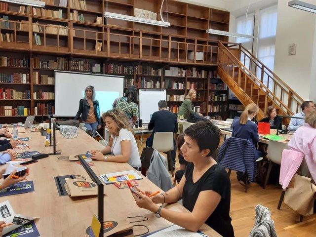 Apertura del Encuentro de la Red de Información Juvenil de Asturias