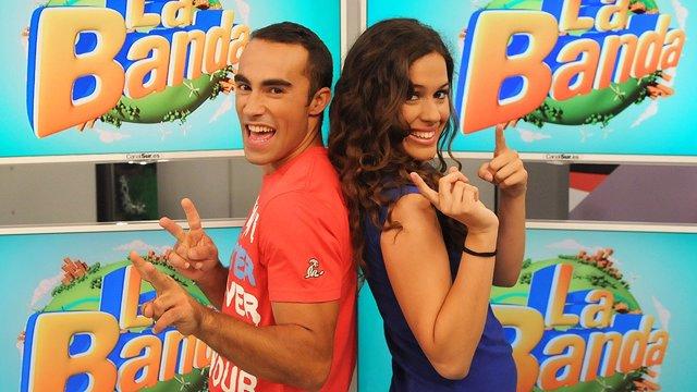 Felipe y María, presentadores de 'La Banda'