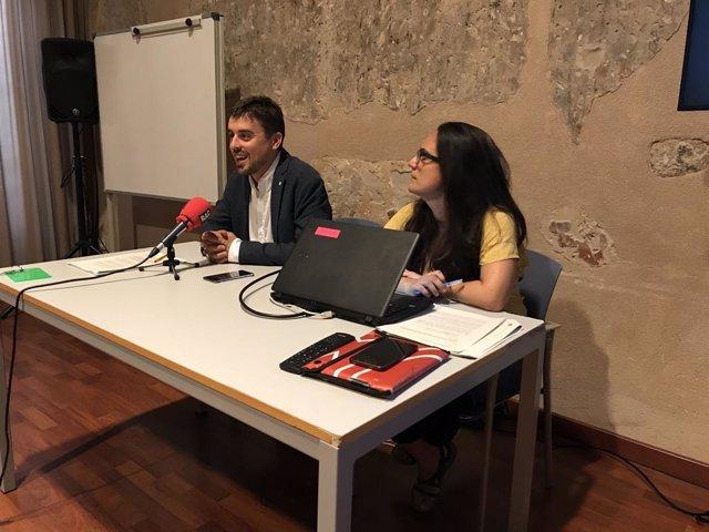 Marc Serra i Aïda Guillén.
