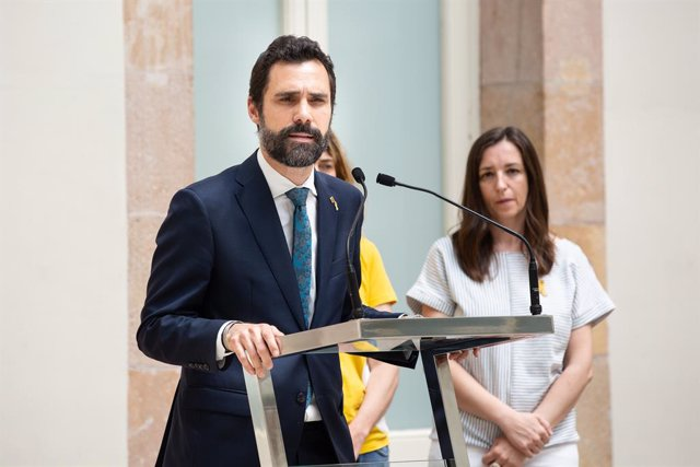 El president del Parlament català, Roger Torrent.