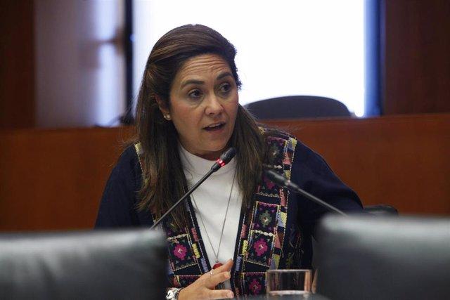 La diputada de Cs en las Cortes de Aragón, Susana Gaspar.
