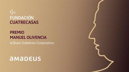Amadeus IT Group, Premio Manuel Olivencia al Buen Gobierno Corporativo de Fundación Cuatrecasas
