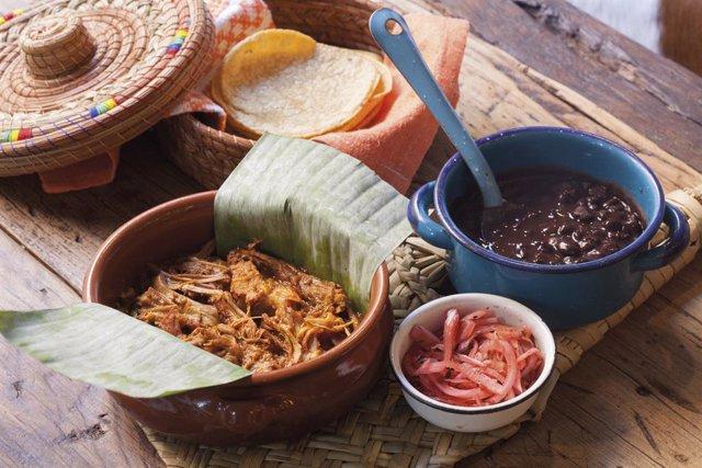 Menú del restaurant Oaxaca en la ruta gastronòmica Malquerida & Food.