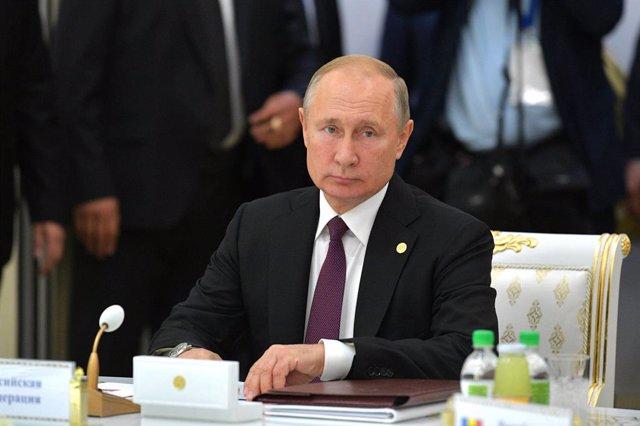 Siria.- Putin alerta del riesgo de fuga de terroristas de Estado Islámico por la