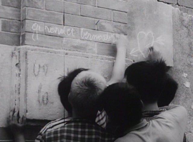 Frame del curt 'Els mistons' de François Truffaut