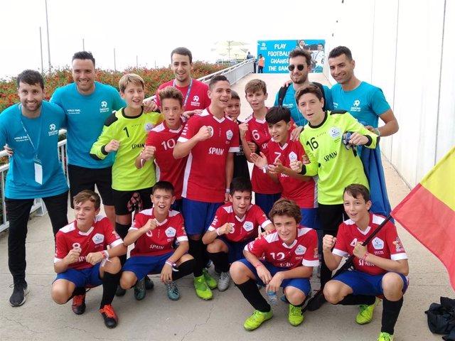 Fútbol.- Los alevines de España golean a Argelia (4-0) y se meten en semifinales