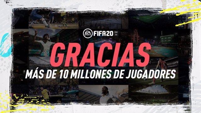 Fútbol.- FIFA 20 bate récords con más de 10 millones de jugadores en dos semanas