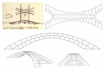 Un revolucionario megapuente concebido por Da Vinci habría sido viable