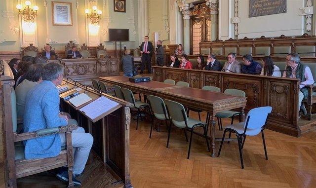 Asamblea constitutiva de la Mancomunidad Tierras de Valladolid.