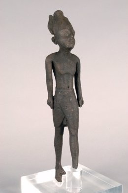Bronce de Melkart de Sancti-Petri del Museo de Cádizanda