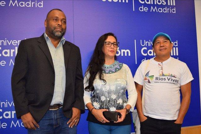Tres activistas colombianos en riesgo son acogidos en Madrid en la reedición del