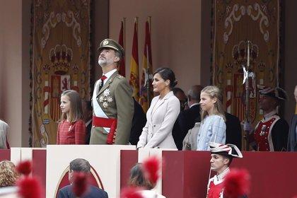 Casa Real.- Los Reyes presidirán este sábado el desfile del 12 de octubre, a menos de un mes de la repetición electoral