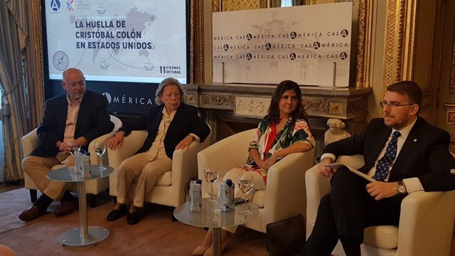 """The Hispanic Council analiza la huella de Colón en EEUU, """"un personaje imprescin"""