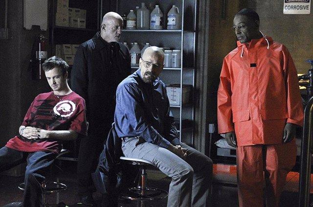 El reparto de Breaking Bad
