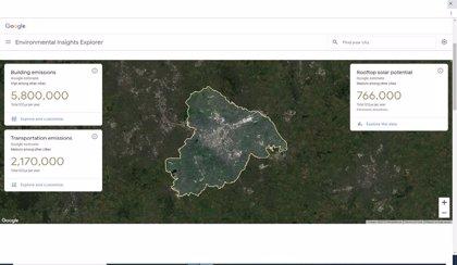 Portaltic.-Google extiende a Europa su herramienta para combatir el cambio climático recopilando datos en cada ciudad