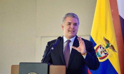 Colombia.- Duque anuncia un proyecto para prorrogar 10 años la ley de reparación de víctimas