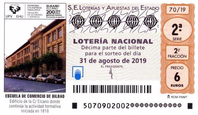Dècim de loteria.