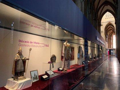 La Catedral nueva de Vitoria instala una muestra permanente que da la bienvenida al visitante