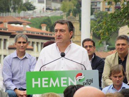 """PNV acusa a Sánchez: """"Tiene agenda de campaña pero no de Gobierno. Quiere gobernar y, cuando toca, no lo hace"""""""