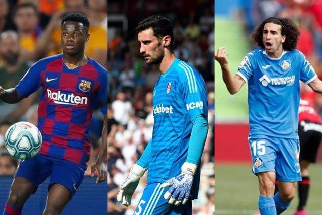 Fútbol.- Ansu Fati, Sergio Rico y Cucurella se forjaron en la Danone Nations Cup