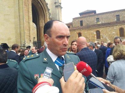El jefe de la Guardia Civil en Asturias alerta de un aumento de las denuncias por delitos sexuales