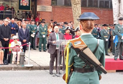 """Arasti: """"La Guardia Civil es más necesaria que nunca en Navarra"""""""